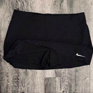 Nike Dri Fit Black Golf Skort Size Large